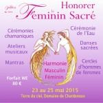 23 mai 2015 féminin sacré