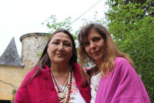 Claudine Ravnich et Marianna Varady