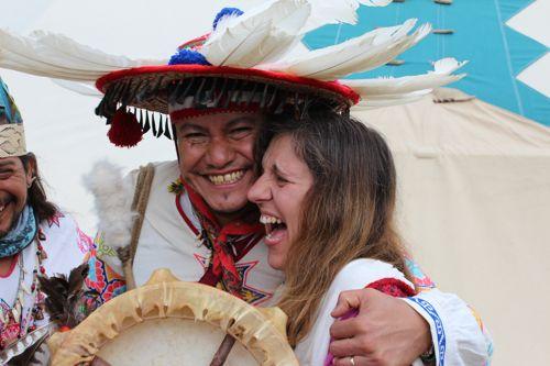 Manu Tlaloc et Marianna Varady
