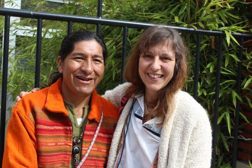Tupaq Sonqo et Marianna Varady