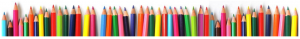 frise crayons couleurs
